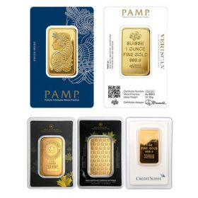 Gold Bar - LBMA Brand - 1 OZ