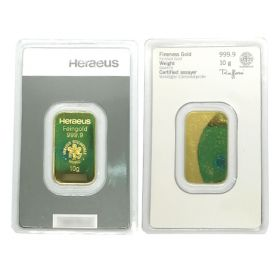 Gold Bar - Argor Heraeus - 10 G