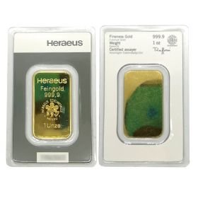 Gold Bar - Argor Heraeus - 1 OZ