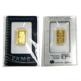 Gold Bar - Pamp Suisse - 10 G