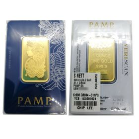 Gold Bar - Pamp Suisse - 1 OZ