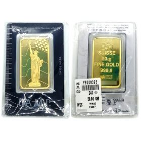 Gold Bar - Pamp Suisse - 50 G