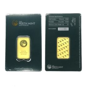 Gold Bar - Perth Mint - 20 G