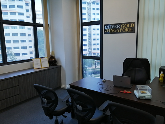 Buy Gold Singapore Office