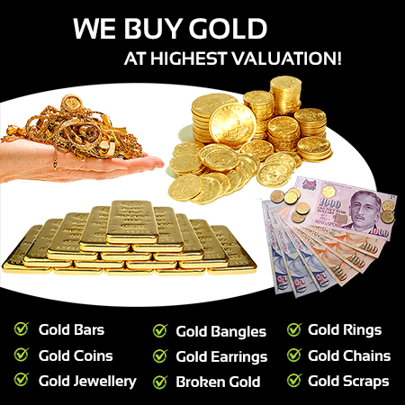 Sell Gold in Singapore - Sell your gold coins, gold bullion bars or gold jewellery at highest valution in singapore